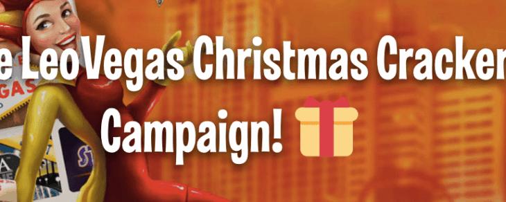 leo vegas christmas cracker campaign
